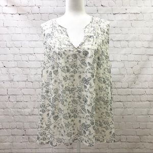Lucky Brand Plus Size Floral Printed Tank